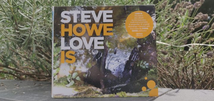 Steve Howe Love Is Album Cover