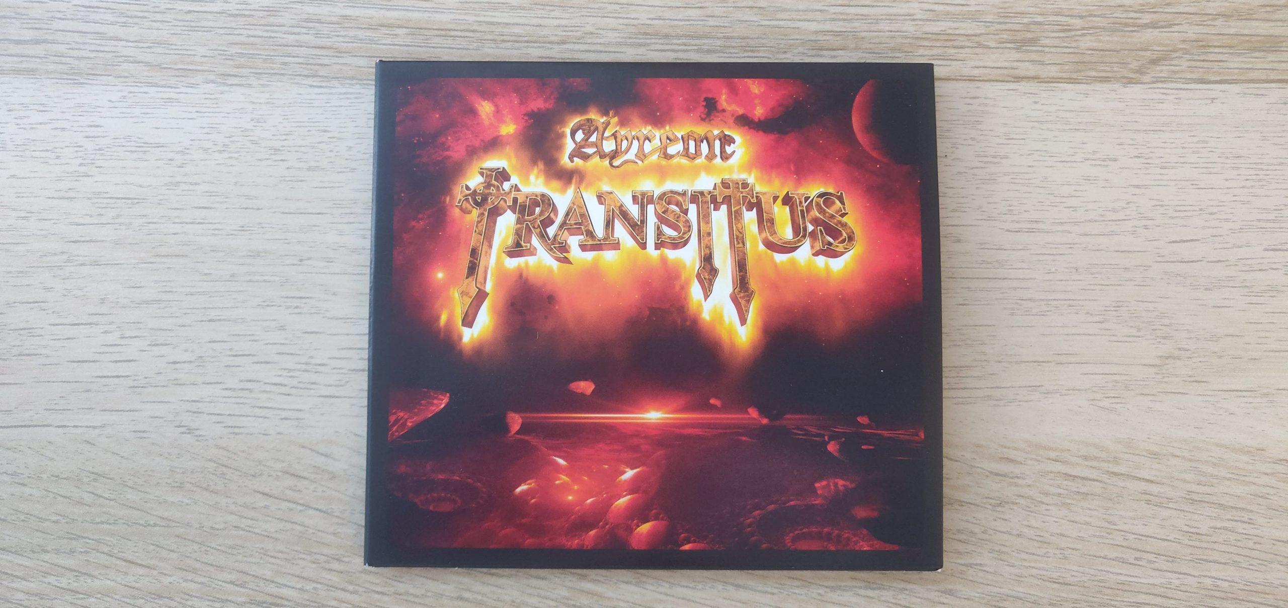 Ayreon 'Transitus' Album Cover