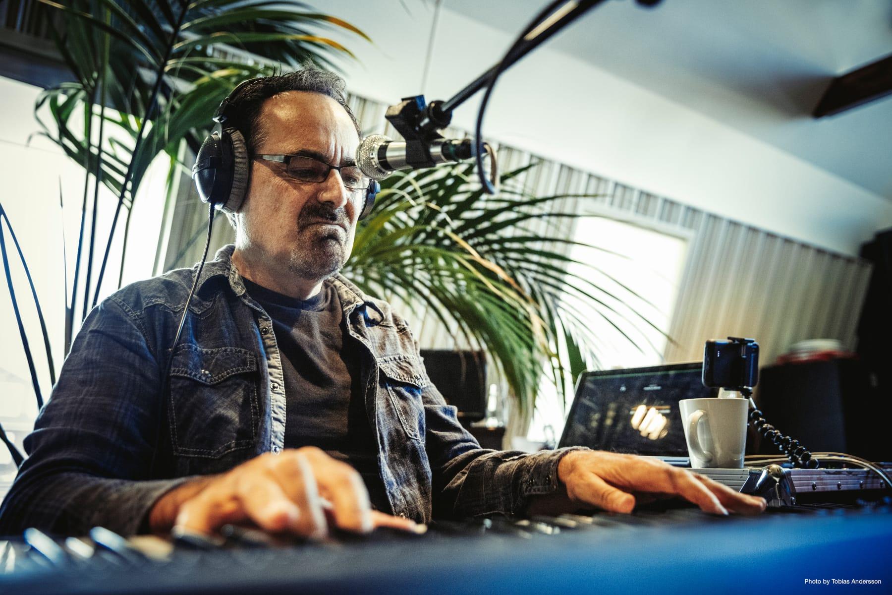 Neal Morse in the studio